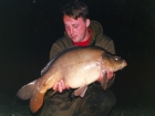 Kieron Axten 20lbs 2oz Mirror Carp from Woodland Waters using Nutrabaits Big Fish Mix with Black Pepper and Caviar.