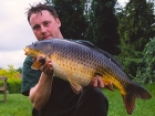 16lbs 10oz Common Carp from Withy Pool using Nutrabaits Big Fish Mix with Black Pepper and Caviar.. Leney fish from Redmire known as The Small Common. My mate Fletch actually landed this for me as I