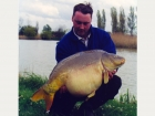 39lbs 8oz Mirror Carp from Haven Camp Site using Mainline Grange CSL.. This fish was presumed dead or stolen untl I snuck a PVA bag under a bush where it looked like the bank had seen very little