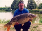 30lbs 4oz Mirror Carp from Etang Neuf using Mainline Grange CSL.