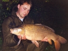 Kieron Axten 18lbs 1oz Common Carp from Les Quis