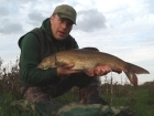 10lbs 13oz Barbel from River Dove using Dynamite Baits.. Caught just 3 feet from rod tip using Greys X-Flite Barbel Rod, Okuma Reel, 12lbs Daiwa line & 10 lbs Braid hooklength.