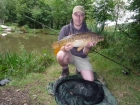 8lbs 0oz Mirror Carp from Hoseasons Holiday Village. Stalked fish using basic float tactics - great fun!