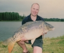 38lbs 4oz Mirror Carp from Parisot using Nutrabaits.. Part of an amazing morning fishing - the biggest of 6 x 30's!